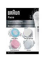 Braun Silk Epil Face Bonus edition - 4 replacement brushes