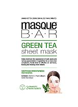 Masque Bar Green Tea Sheet Mask - 3 complete masks