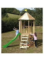 TP Toys Castlewood Tower with Wavy Slide