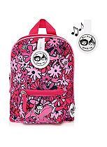 Zip & Zoe Floral Pink Mini Backpack