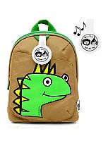 Zip & Zoe Dylan Dino Face Mini Backpack