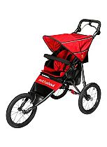 Out 'n' About Nipper Sport V4 Stroller - Carnival Red