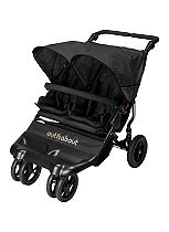 Out 'n' About Little Nipper Double Stroller - Jet Black