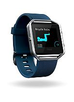 Fitbit Blaze Fitness Super Watch Classic Accessory Band - Blue (Small)
