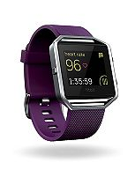 Fitbit Blaze Fitness Super Watch Classic Accessory Band - Plum (Small)