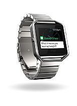 Fitbit Blaze Fitness Super Watch Metal Accessory Band - Silver (Standard)