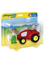 Playmobil 123  tractor