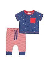 Mini Club Baby Boys Top and Jogger Set