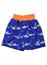 Splash About Happy Nappy Board Swim Shorts Shark Orange (X Large) - 12-24 Months