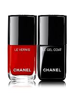 CHANEL LE DUO VERNIS LONGUE TENUE  Nail Polish and Gel Coat Duo