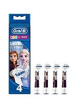 Oral-B Stages Power Replacement Toothbrush Heads x4 Featuring Frozen Characters