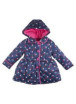 Mini Club Girls Mac Blue Floral