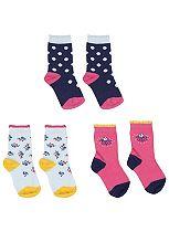 Mini Club Girls Socks Floral 3 Pack