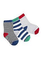Mini Club Boys Socks 3 Pack Striped
