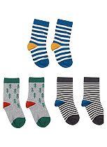 Mini Club Boys Socks Striped 3 Pack
