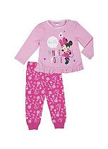 Mini Club Girls Pyjamas Pink Minnie Mouse