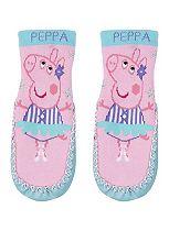 Mini Club Peppa Pig slipper sock