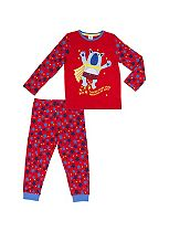 Mini Club Boys Pyjamas SuperBear Red