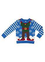 Mini Club Boys Christmas Jumper Elf