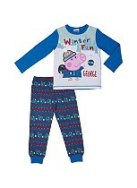 Mini Club Boys Christmas Pyjamas George Pig