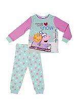 Mini Club Girls Christmas Pyjamas Peppa Pig