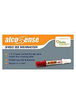 AlcoSense Single Use Breathalyser