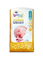 Boots Baby Newborn Nappies Carry Pack Size 2 - 42 Nappies