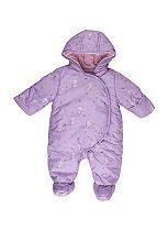 Mini Club Baby Girls Snowsuit Purple
