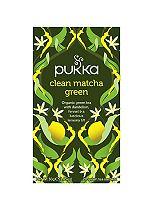 Pukka Fairtrade Clean Matcha Green 20 Green Tea Sachets 30g