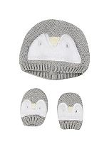 Mini Club Baby Knitted Hat and Mitts set