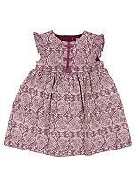 Mini Club Baby Girls Jacquard Dress Paisley
