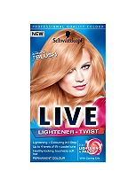 Schwarzkopf LIVE Lightener + Twist 103 Peach Blush Hair Dye