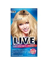 Schwarzkopf LIVE Lightener + Twist 102 Vanilla Blonde Hair Dye