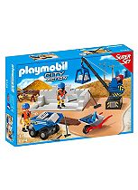 Playmobil Construction Site SuperSet 6144