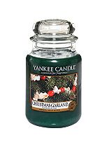 Yankee Christmas Garland Large Jar Candle