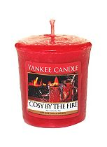 Yankee Candle Cosy By The Fire Samplers Votive Candle