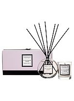 Stone Glow Modern Classics Candle and Reed Gift Set Plum Blossom & Musk