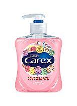 Carex Fun Edition Love Hearts Hand Wash 250ml