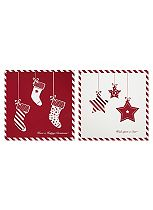 Boots Red & White Star 12 Cards
