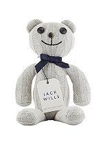 Jack Wills Knitted Teddy Bear