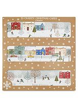 Boots Winter House Scene 20 Cards