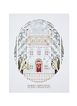 Boots Laser Cut Festive House 4 Cards