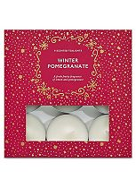 Boots Home Fragrance Winter Pomegranate Tealights