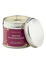 Boots Home Fragrance Winter Pomegranate Candle Tin