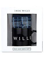 Jack Wills Mug And Sock Gift
