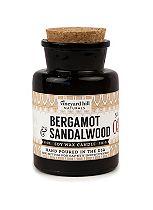 Vineyard Hill Bergamot and Sandalwood Apothecary Candle