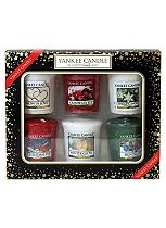 YANKEE CANDLE® CHRISTMAS 6 VOTIVE CANDLE GIFT SET