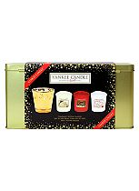 YANKEE CANDLE® CHRISTMAS VOTIVE CANDLE TIN GIFT SET
