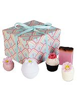 Miss Patisserie Bath Bomb Gift Box Floral Variety Box