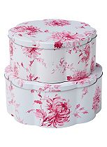 Laura Ashley Set of 2 Cake Tins
